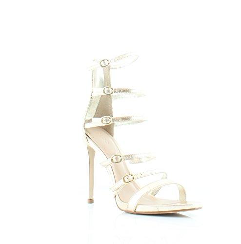 ALDO Nandra Women's Heels Gold Size 7.5 M