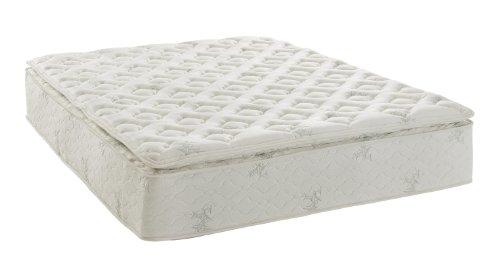 signature sleep signature 13 inch encased coil mattress with certipurus certified foam pillow top and soft bamboo mattress cover - Saatva Mattress