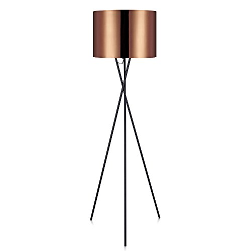 Versanora VN-L00002 Cara Floor Lamps, Copper
