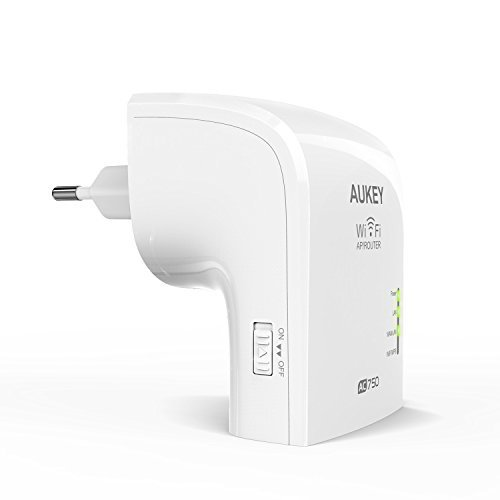 155 opinioni per AUKEY Ripetitore Wifi Dual Band 5GHz 433Mbps + 2.4GHz 300Mbps Range Extender