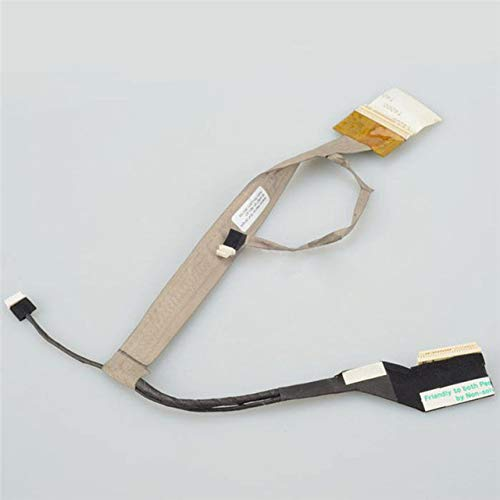 (Connectors LCD Display Video Flex Cable for HP Compaq CQ50 G50 CQ60 LCD Video Cable - (Cable Length: Cable, Color: Refer)