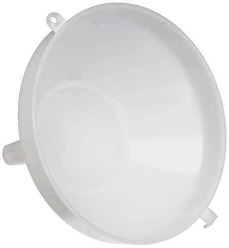Funnel Brew Plastic - Plastic Funnel with Strainer 8