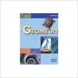 Bju geometry student textbook bob jones university math grade 10.