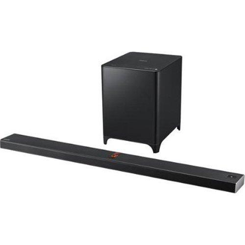 Samsung HW-F850 2.1 Channel 350 Watt Wireless Audio Soundbar (2013 Model)