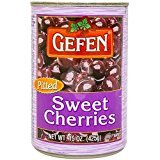 Gefen Pitted Sweet Cherries Kosher For Passover 15 Oz. Pack Of 6.