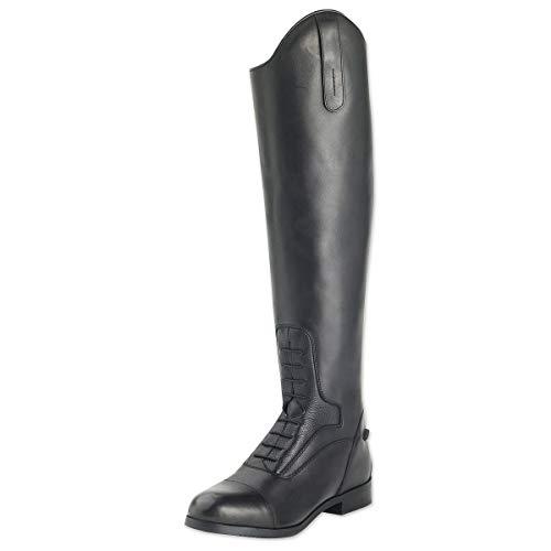 (Ovation Ladies Flex Sport Black Field Boot, 7 )