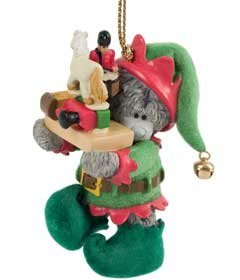 me to you bears tatty teddy santas little elf christmas tree decoration