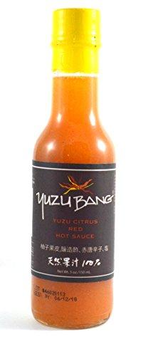 Yuzu Bang Yuzu Citrus Red Hot Sauce 5 (Soy Sauce Costume Diy)