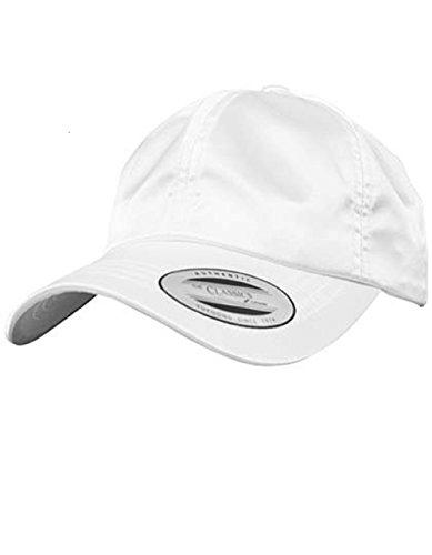 Agx Haute Brillant White Satin Imprimable En Qualité Casquette rqxS1r