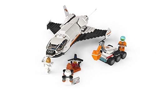 31yiKQztdPL - LEGO City Space Mars Research Shuttle 60226 Space Shuttle Toy Building Kit with Mars Rover and Astronaut Minifigures, Top STEM Toy for Boys and Girls, New 2019 (273 Pieces)