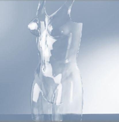 fissaggio a polpaccio per le scarpe smontabile Manichino per vetrina da donna infrangibile trasparente