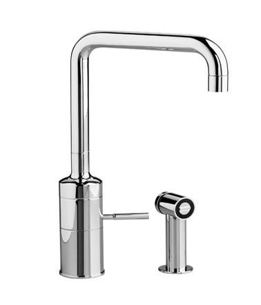 Incroyable Jado IQ 832/860M/100 Single Lever Kitchen Faucet With Pull Out Side Sprayer