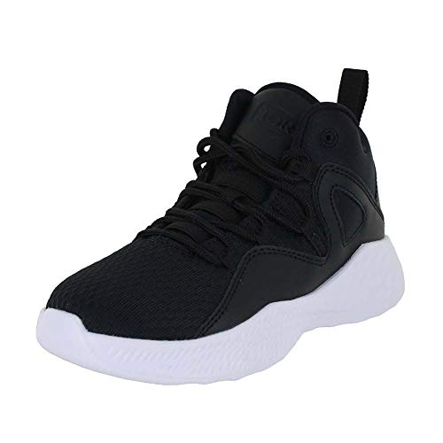 Jordan Kids Formula 23 BP Black Black White Size 11 (Jordan 23 Shoes Kids)