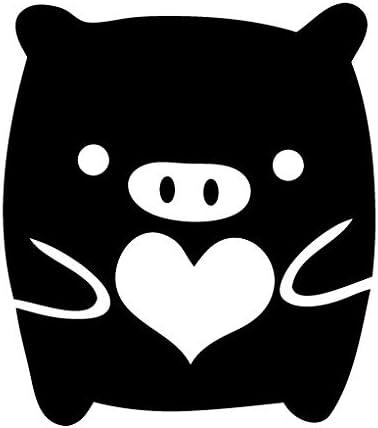 Leon Online Box Monokuro Boo Heart - Adhesivo de Vinilo para Coche ...