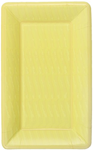 ideal-home-range-cafe-paper-plates-wave-yellow-9-x-55-inch-8-count-pack-of-3