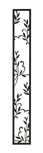 壁飾り 外壁 ウォールアクセサリー 亜鉛鋼板(焼付塗装) シャドーピクチャー ストレートタイプ デザインH 取付ピン付属 B0793S2C4Z