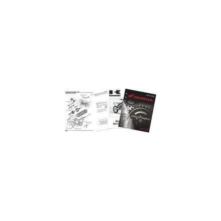 02-04 HONDA CR250: Honda OEM Parts Factory Service Manual