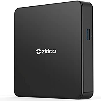 Android 7.0 TV Box Zidoo X7 Media Player with Quad Core 2GB/8GB Dual Band AC Wireless 4K HDR USB 3.0