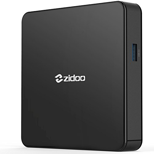 Android 7.0 TV Box Zidoo X7 Media Player with Quad Core 2GB/8GB Dual Band AC Wireless 4K HDR USB 3.0 by Zidoo®
