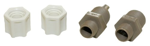 Hayward CLX220EA CL 200 Series Pool Chemical Feeder Check Valve and Inlet Fitting Adapter Assembly (Chlorinator Parts)