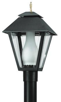 Aluminum Weather-Proof Lantern Only (White) - 110V Outdoor Lantern, Driveway Light