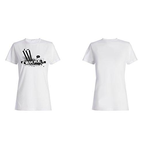 Kricketspiel lustige neue Geschenk Neuheit Damen T-shirt f260f