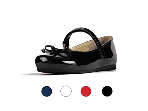 - Subibaja Anita Mary Jane Narrow Flat Shoes for Baby Girls|Toddlers BP8.5T