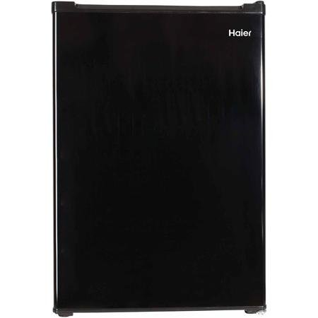 Haier 2.7 cu ft Refrigerator, Non-Metallic Black Finish