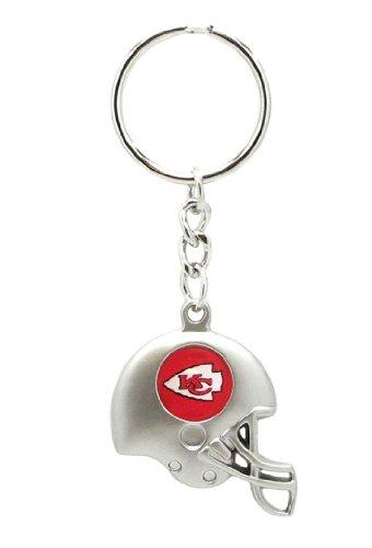 Kansas City Chiefs - NFL Silver Helmet Keychain