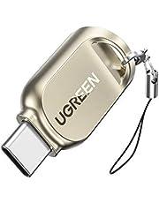 UGREEN TF Card Reader USB C Micro SD Card Reader USB 3.0 Type C OTG Memoery Card Reader Adapter for Micro SD, Micro SDXC, Micro SDHC UHS-I for Mac, Windows, Lixus PC, Samsung Galaxy Note 20, S20