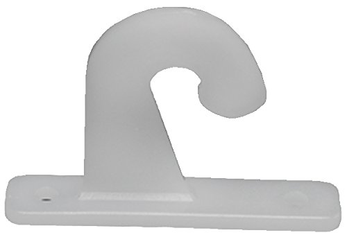 RV Designer A302 Mini Blind Hold-Down Hook, (Pack of 2)