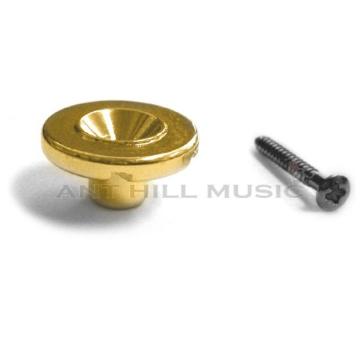 Vintage Style Round String Retainer for Electric Bass - ()