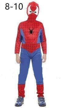Krazy Toys Disfraz Spiderman Niño (8-10 años): Amazon.es: Juguetes ...