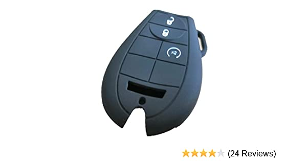 Dodge Charger Challenger Grand Caravan Ram 1500 2500 3500 4500 Jeep Commander Grand Cherokee M3N5WY783X IYZ-C01C 267F-5WY783X KAWIHEN Keyless Entry Remote Fob Skin Replacement for Chrysler 300 T/&C
