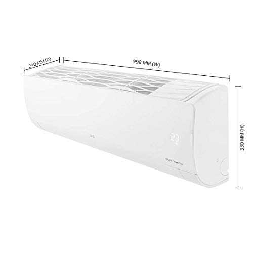 LG 1.5 Ton 5 Star Dual Inverter Split AC (Copper, KS-Q18HNZD , White, Hi Grooved Copper) 3