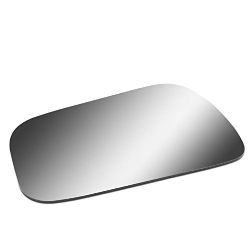 (Driver/Left Side Door Rear View Mirror Glass Lens Replacement for 1992-2001 Toyota)