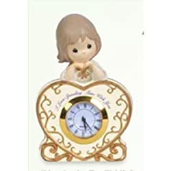Precious Moments Tabletop Clock I Love Spending Time with You 114400