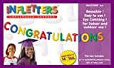 "Inflatable Letters Infletters Boxed Set ""CONGRATULATIONS"""