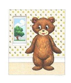 (FeltSongs Stories Teddy Bear Dress up Set Flannel Board)