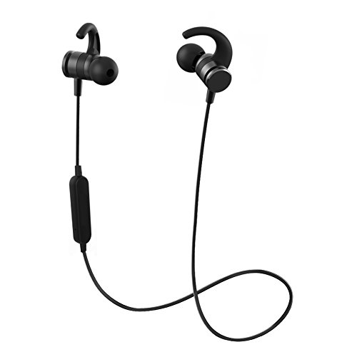 Abedi M6 Bluetooth Headphones,Bluetooth Magnetic Wireless Earphones with Microphone