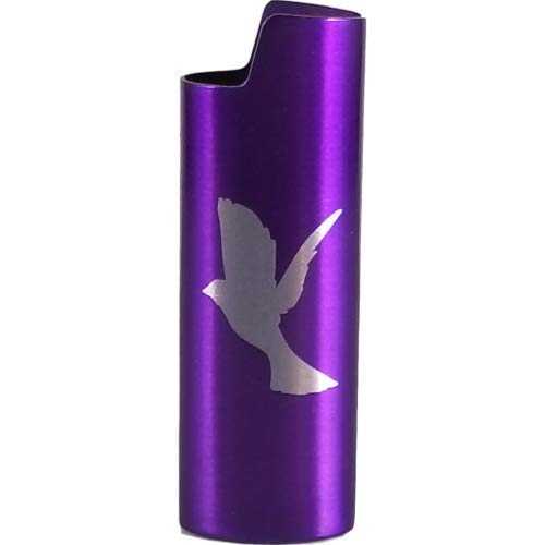 Dove Design Lighter Cover Metal (MANY COLORS)