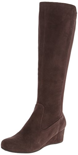 Rockport Women's Total Motion Tall Gore Wedge Boot - Coac...