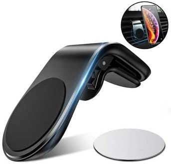 UTECH Soporte magnetico para movil Coche, Mini iman Potente Duradero para telefono Universal ventilacion, para iPhone Smartphone: Amazon.es: Electrónica