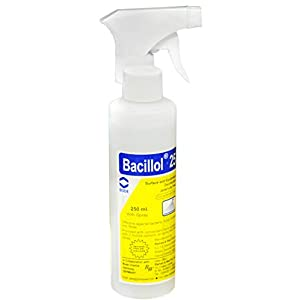 Bacillol 25 Ready To Use Surface & Equipment Disinfectant 250Ml