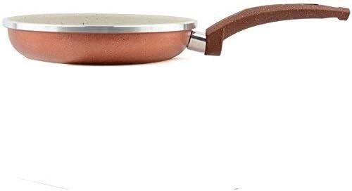 2pcs en aluminium non-Stick Skillet 8 « » cuisine +9,5 Poêle à frire revêtement Skillets Outils de cuisine Cuisine professionnelle (Color : -)