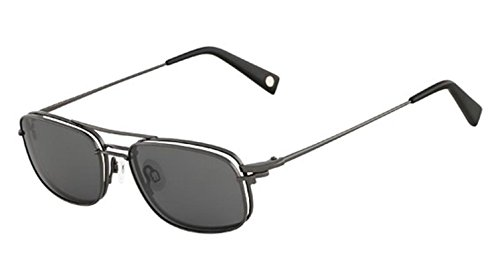 FLEXON Eyeglasses FLX 900 MAG-SET 033 Gunmetal 53MM ()