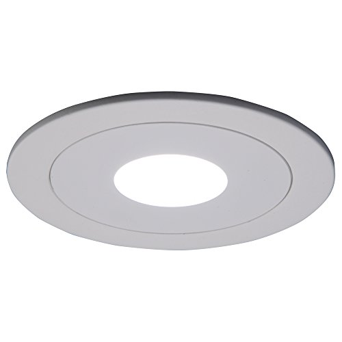 HALO Recessed 990P 4-Inch Trim Pinhole, - Fan White Ceiling Halo