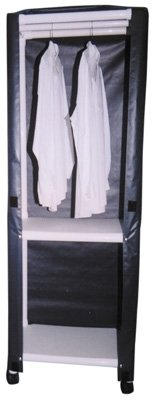 Graham Field PVC Clothing Caddy, Large, 65'' H x 58'' W, 1/Ea, GHF8527