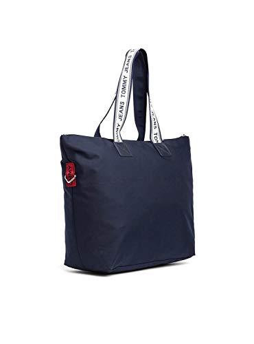 Bag Logo Tote Jeans Bleu Tommy 87qaAa