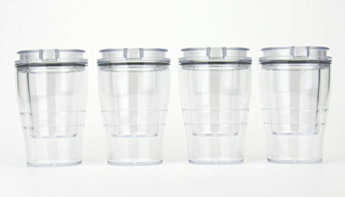 DoubleTake Shot Glass - 4 Pack - Clear ()